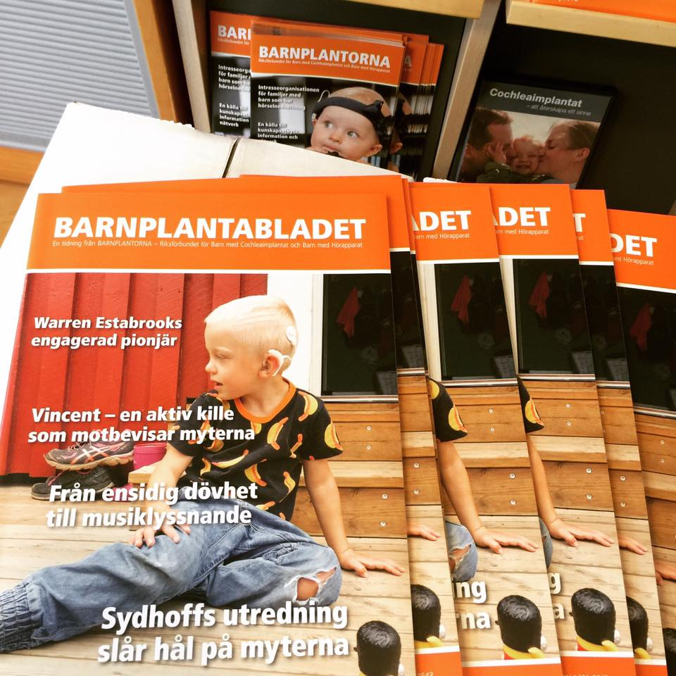 Infomaterial Barnplantorna