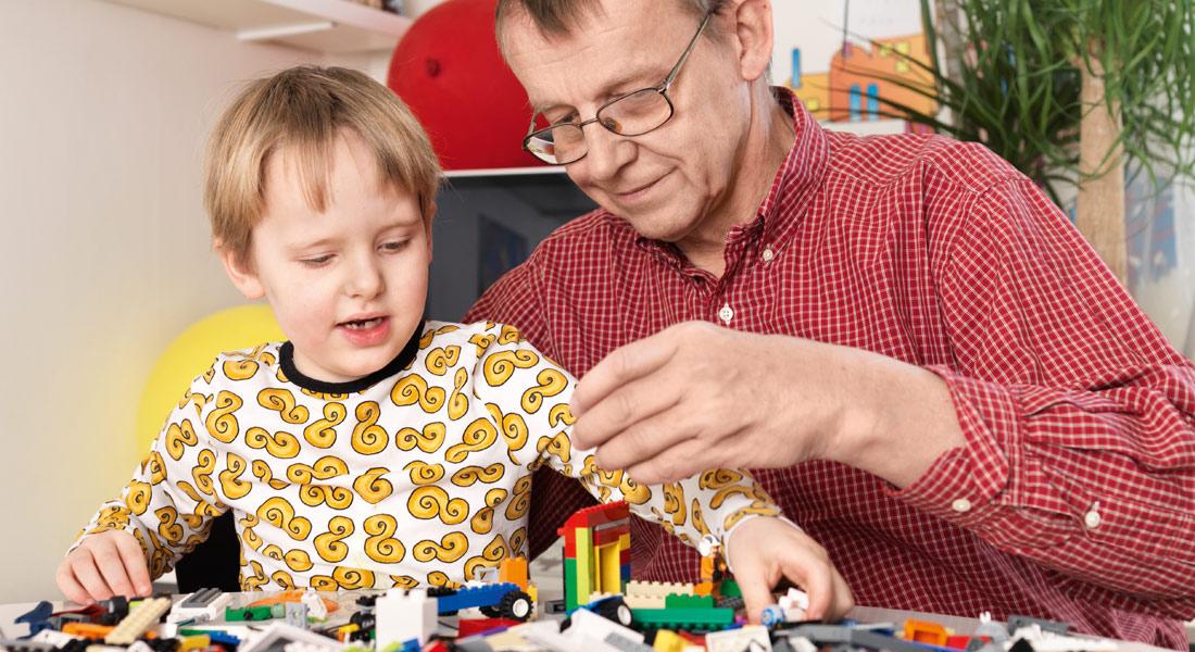 Hans Rosling - farfar till Max (Foto: Karim Hatoum)