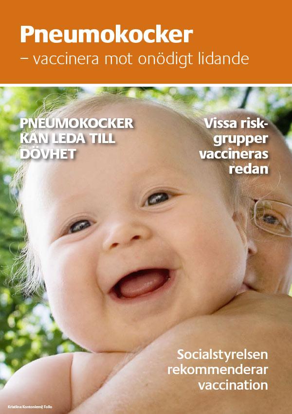 Pneumokocker - vaccinera mot onödigt lidande