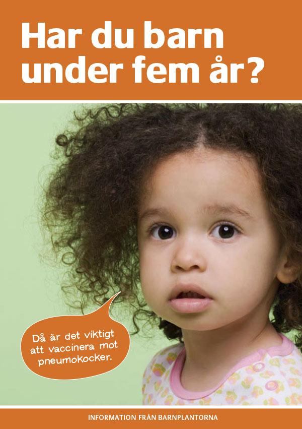 Har du barn under fem år? Då är det viktigt att vaccinera mot pneumokocker.
